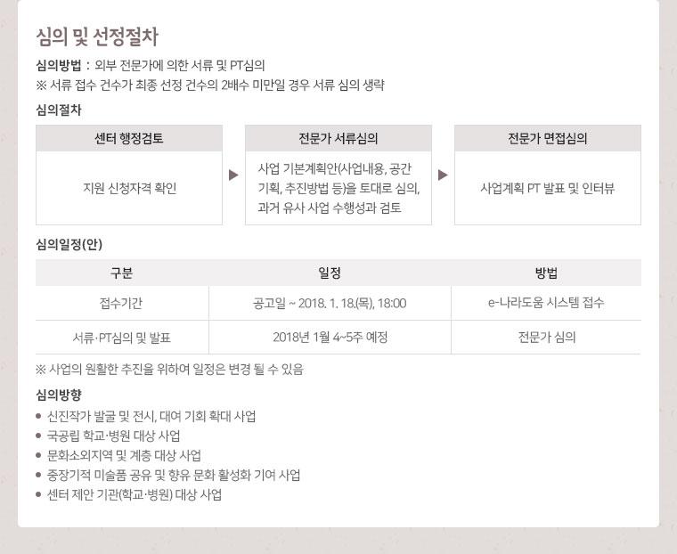 2017 미술품 대여 및 전시 지원 공모 안내이미지6