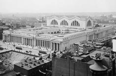 사진1_하늘에서 바라본 펜스테이션(1910년~1920년에 촬영) ⓒ Library of Congress & Images via cbsnews.com