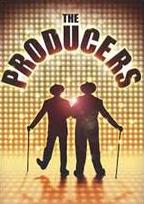 뮤지컬 프로듀서들의 애환을 다룬 코미디 뮤지컬 <프로듀서들, The Producers> 포스터