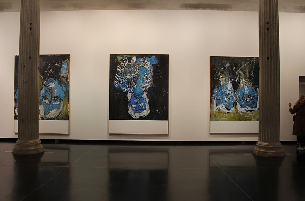 아카데미아 미술관에서 열린 게오르그 바젤리츠 회고전