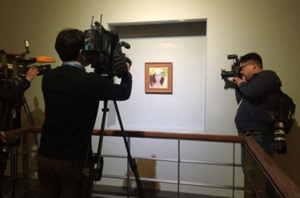 작가는 위작으로, 미술관·감정기관은 진작으로 주장했던 (故) 천경자 화백의 <미인도>Ⓒ 헤럴드DB