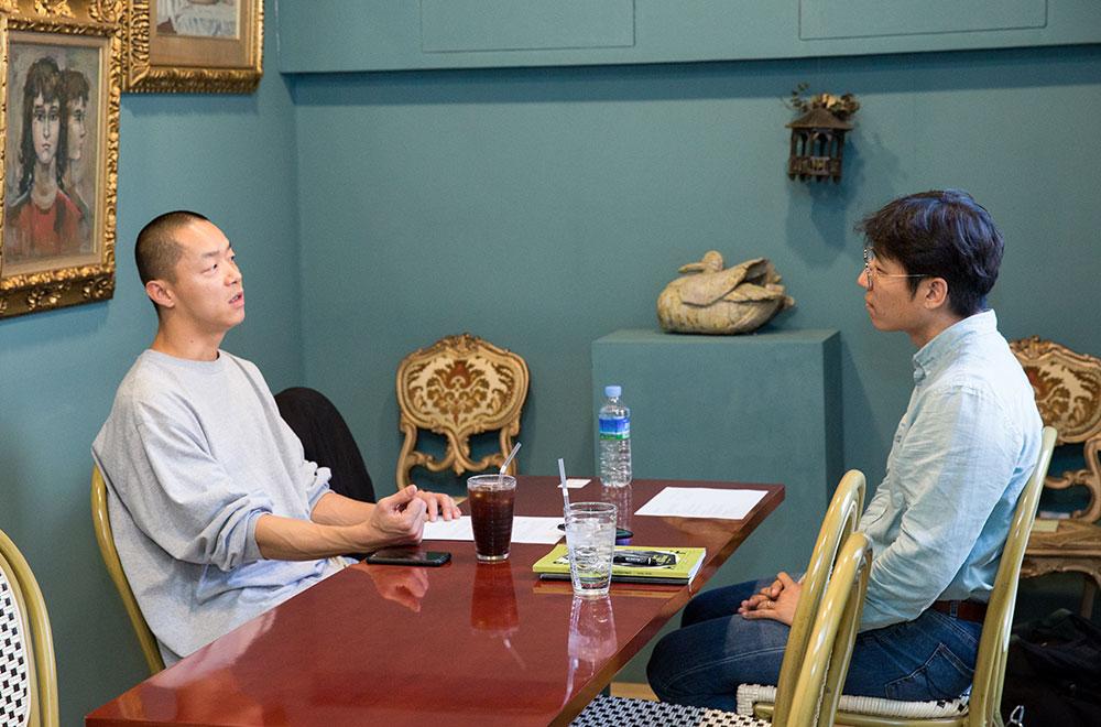 김판선 안무가와의 대화