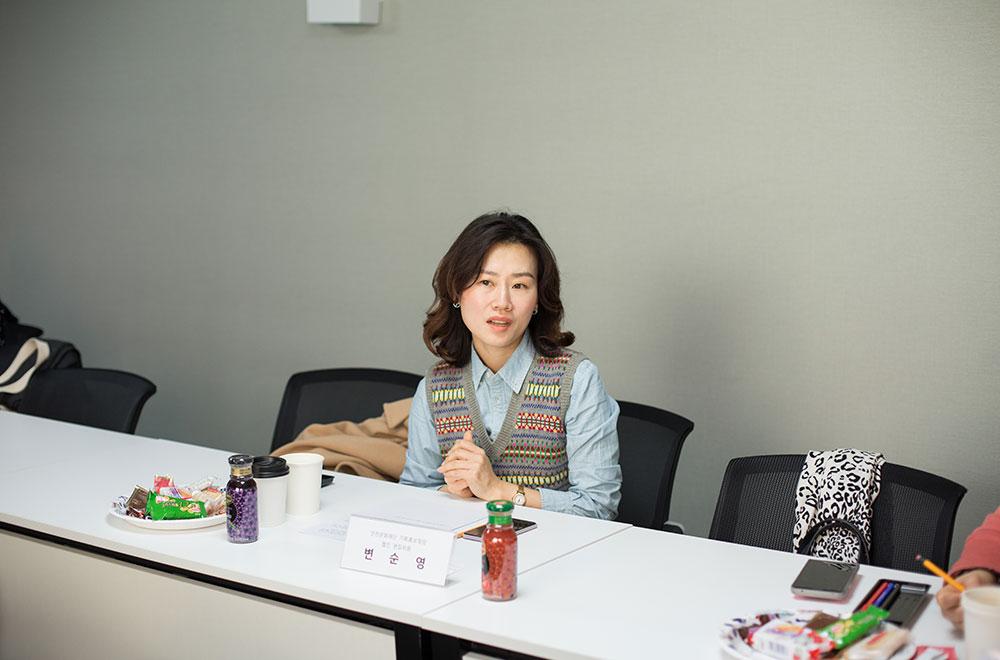 인천문화재단 기획홍보팀 변순영 팀장